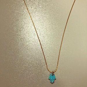 Short Hamsa Necklace